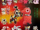 韩版搞怪手工布艺纽扣娃娃 批发玩具 地摊热卖小号带珠子