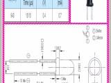 台湾亿光原装正品940NM红外线发射管插件IR333-A