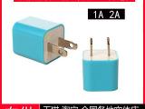 工厂批发 苹果充电器 iphone4 4s 绿点 充电 彩色 绿