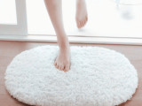 欧式北极绒地毯浴室卫生间门口吸水防滑卧室脚垫门垫进门创意地垫