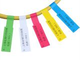 A4不干胶打印纸机房布线缆标签P型标签纸网线标签