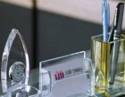 水晶奖杯、水晶奖牌、水晶笔筒、