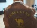 全新骆驼牌棕色商务背包