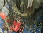 二手不锈钢太空沙太空泥捏合机500L搅拌机气动翻缸