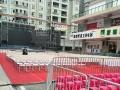 惠民出租沙滩桌椅、塑料方凳、赛事铁马围栏租赁