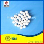 江西萍乡科隆生产供应凹凸瓷球 菠萝瓷球 开孔瓷球系列化工填料