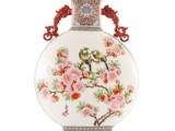 双龙抱月瓷瓶 寓意盛世和谐家庭美满幸福