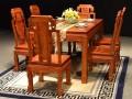 缅甸花梨餐桌图片