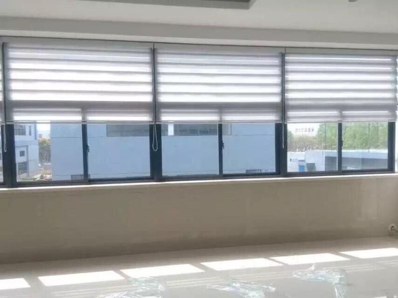 上海青浦窗帘定做青浦区定做办公室窗帘赵巷阳光房电动天棚帘定做