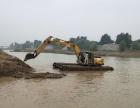 郑州水上挖掘机租赁 开封湿地挖掘机出租