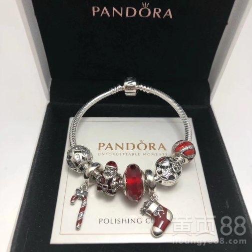 Pandora潘多拉925银串饰氧化锆石796382EN39