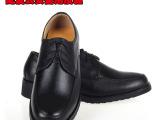 配发男女公安警用皮鞋单鞋军鞋全牛皮工装鞋