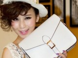 2014新款定型包包 女韩张娜拉同款复古包PU单肩斜挎女包批发