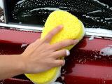 厂家直销   加大型 洗车海绵 8字压缩 清洁海绵 8字海绵大号
