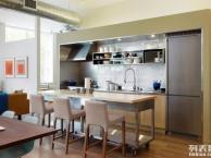 元旦装修小户型开放式厨房设计谨记四大要点
