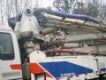 混凝土泵车中联重科38米泵车11年的辽宁拍照