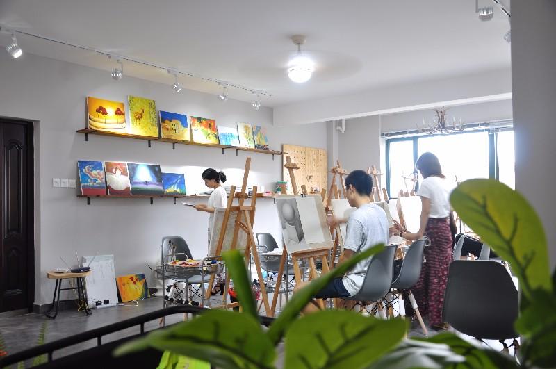 长沙成人零基础学画画兴趣班成人画室 绘画班 油画国画水彩彩铅