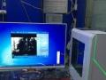 特价出售高端四核I5游戏电脑主机、27寸液晶市内免费送货