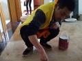 江都大喜管家提供开荒保洁、玻璃清洗、瓷砖美缝