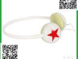 低价促销礼品头戴式麦音乐手机耳机 小星星耳机 厂家直销耳机