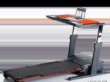 美国爱康24951新款跑步机工作运动两不误爱康高端商务跑步机