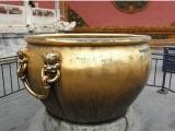 曲靖铜缸工艺品 汇丰铜雕