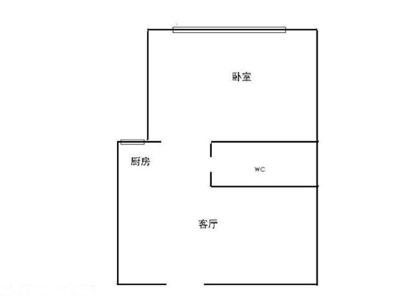 三峡广场 一三中旁 正规一室一厅陪读 出行方便 拎包入住星瀚大厦