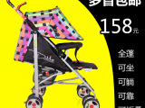 夏季轻便儿童推车可折叠伞车可躺可坐宝宝童车避震婴儿车批发