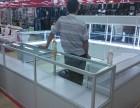 北京专业生产货架展柜 展台 钛合金展柜 仓储库房货架