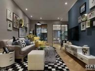 重庆合川87平米现代简约风两居室装修 成功人的幸福之家