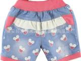 低价儿童牛仔短裤特价清仓处理|10元以下常熟童装童裤批发