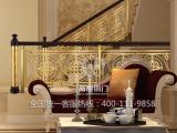 上海高爵铜门铜艺铜扶手紫荆花系列