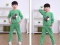 江苏童装批发小孩子最可爱秋季套装打底衫批发县城儿童服装店货源