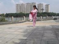 广州康之杰太极拳培训太极私教太极表演在东湖公园黄花岗公园上课
