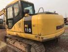 鹤壁小松PC110-7二手纯土方挖机现货出售