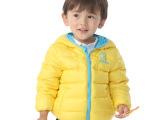BOBDOG巴布豆羽绒服专柜正品 男女童羽绒服轻便保暖薄款90%