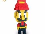 艾可积木乐园 EPP环保积木玩具 儿童益智积木 马里奥积木