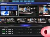 虚拟演播室网络直播慕课微课搭建室录制节目灯光装修方案蓝箱搭建