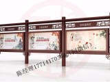 怀化鹤城不锈钢宣传栏制作报价销售