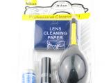供应 尼康七合一清洁套装  气吹布清洁液毛刷干擦镜纸棉棒湿擦纸
