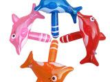 小海豚棒 婴儿手摇玩具 有铃档 25CM