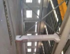 正规钢结构厂房 有行吊 厂区内外大路宽阔
