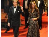 欧美外贸长裙气质连衣裙 春秋长袖V领蕾丝礼服裙凯特王妃同款现货