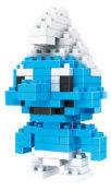 LOZ立体创意积木 迷你钻石积木 Diamond Blocks玩具9311蓝精灵
