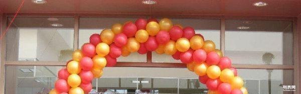 婚庆气球布展 气球造型 卡通气球制作 t台舞台安装