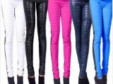 代发羽绒裤 厂家批发13新款显瘦羽绒裤小脚裤女式单面羽绒裤