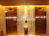 加工彩色不锈钢电梯门 不锈钢电梯轿厢门