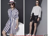 E15黑马蓝摩登时尚女装尾货品牌折扣批发市场