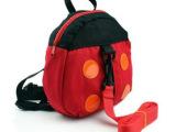 厂家批发瓢虫包防走失带零食包 学步带小书包宝宝背包甲壳虫包
