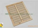 供应蜂具 中蜂平面竹丝隔王板 意蜂框式隔网板
